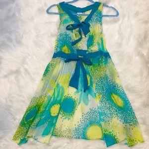 100% silk cover up dress